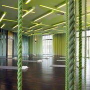 果绿色清新会所装饰