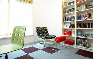 小书房书架设计图片