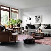公寓内欧式典雅型小客厅设计