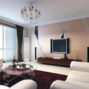 红苹果家具客厅装修实例