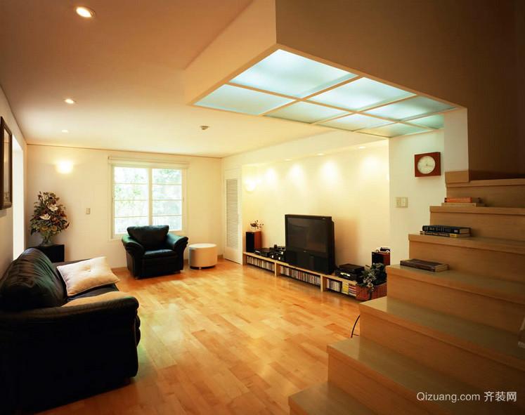 三居室简洁型客厅装修效果图欣赏
