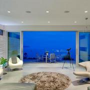 清新色调客厅设计图片