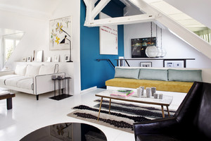实用原理:110平米二层复式公寓装修效果图