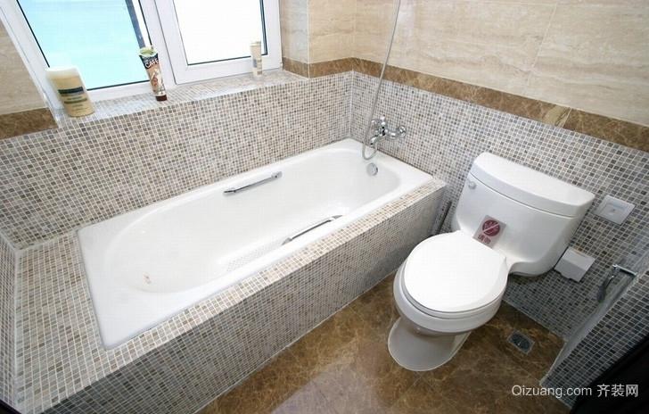 单身公寓轻盈风格卫生间装修效果图