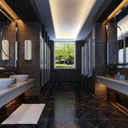 大户型卫生间洗手台潢