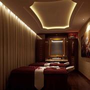 欧式美容院会所spa床设计
