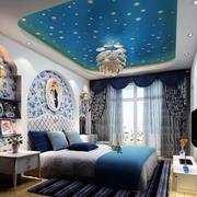 地中海风格卧室设计灯光设计