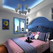 地中海风格卧室设计色调搭配