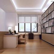 自然风格小书房设计