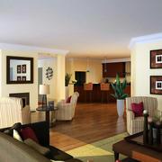 别墅欧式客厅照片墙设计
