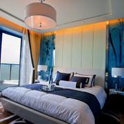 地中海风格卧室设计图