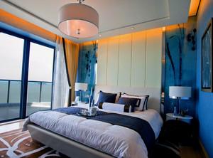 都市大户型地中海风格卧室设计效果图