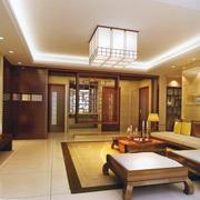 中式客厅装修色调搭配