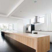 小公寓原木系列简约厨房设计