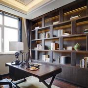 中式书房简约风格灯饰装修