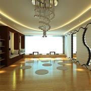 日式简约风格瑜伽会所吊灯设计