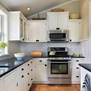 简欧风格厨房装修整体图