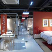 红苹果家具客厅装修灯光设计
