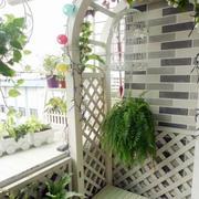 韩式田园风格阳台装饰