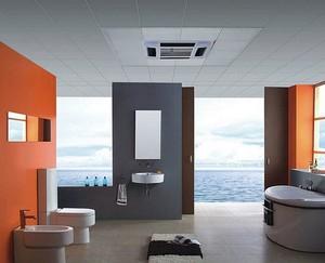 经济实用:卫生间防水铝扣板吊顶装修图