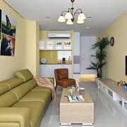 大户型典雅式纯色背景墙