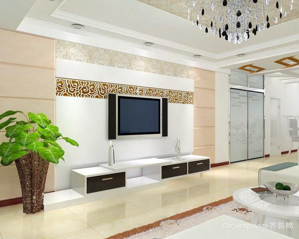 2015别墅豪华型客厅装修效果图