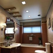 美式风格的卫生间吊顶