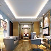 小户型家装卧室装修吊顶图
