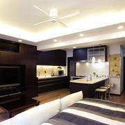 宜家风格单身公寓装修