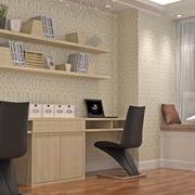 小书房电脑桌设计