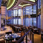 大厦内部高级餐厅