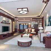 中式客厅装修唯美图