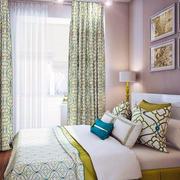 韩式清新卧室背景墙装饰