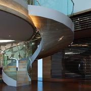 灰色调楼梯装修设计