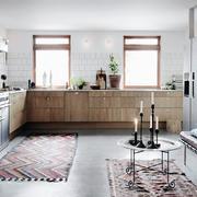公寓实木型小厨房设计