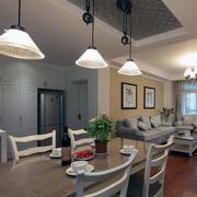 小户型家装餐厅装修灯光设计