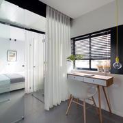 公寓白色纱窗设计