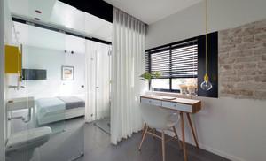 娴雅飘逸:88平米小户公寓式住宅精装效果图