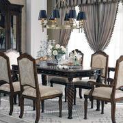 美式家具客厅装修飘窗图