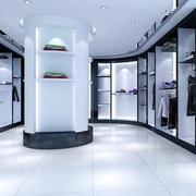 现代时尚展厅柜台装饰
