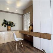 家居简约书桌设计