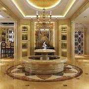 奢华大型别墅前厅设计