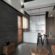 公寓客厅厨房一体化