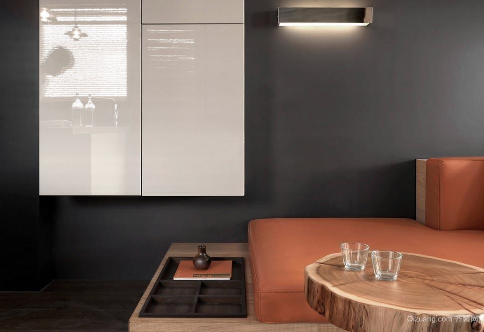 折叠空间:摩登前卫单身汉公寓效果图