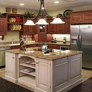 宜家舒适的美式厨房