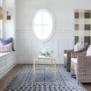 欧式简洁公寓白色卧室小户型家装