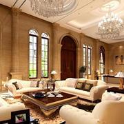 欧式客厅拱形门设计