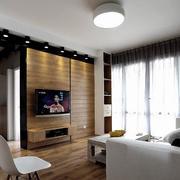 家居客厅电视背景墙