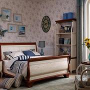 欧式简约风格儿童卧室家具设计