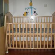 暖色调儿童床设计